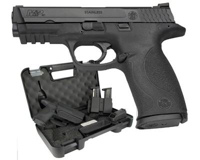 Smith & Wesson Pistol Smith & Wesson M&P40 40 S&W Carry & Range Kit 15 Round 209330