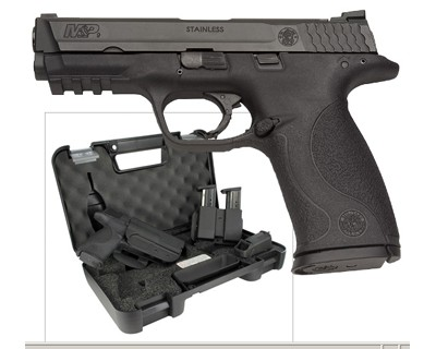 Smith & Wesson M&P9 9mm Carry & Range Kit 17 Round