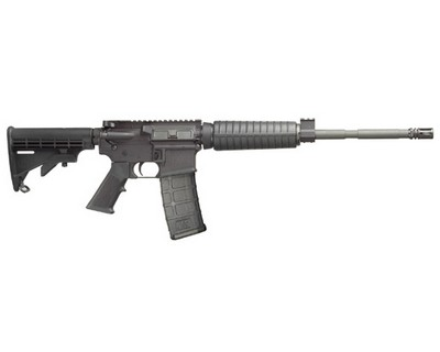 Smith & Wesson Rifle Smith & Wesson M&P15 OR, 5.56 Adjustable Stock, No Sights 30 Round 811003