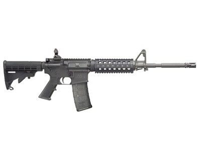 Smith & Wesson Rifle Smith & Wesson M&P15 X, 5.56 Adjustable Stock, Folding Rear Sight 30 Round 811008