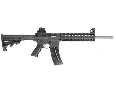 Smith & Wesson Rifle Smith & Wesson M&P15-22 22 Long Rifle Fixed Stock 4-Rail 10 Round 811031