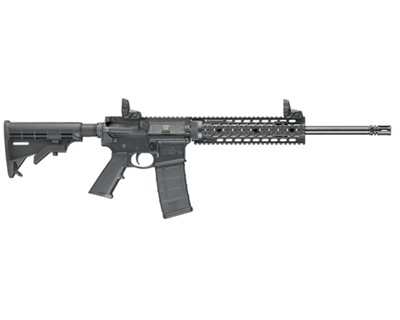 Smith & Wesson Rifle Smith & Wesson M&P15 T, 5.56 4 Rail, Adjustable Stock Folding Sights, 30 Round 811041