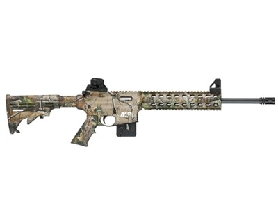 Smith & Wesson Rifle Smith & Wesson M&P15-22 22 Long Rifle Adjustable Stock APG Camo 10 Round 811046