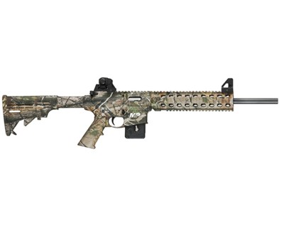 Smith & Wesson Rifle Smith & Wesson M&P15-22 22 Long Rifle Fixed Stock APG HD Camo 10 Round 811047