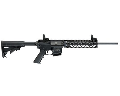 Smith & Wesson Rifle Smith & Wesson M&P15 FT, Fixed Stock 5.56 CT,MA,MD,NJ,NY 10 Round 811048