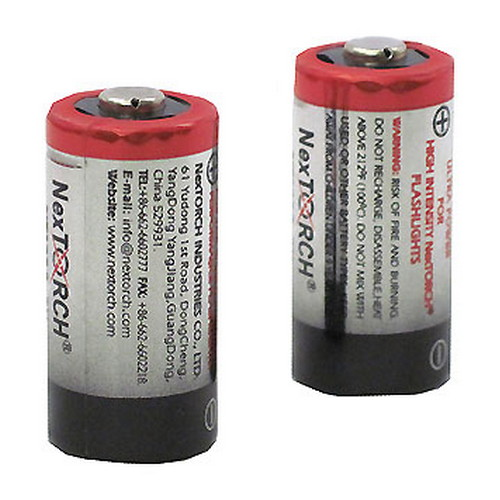 TacStar Industries TacStar Industries Replacement Batteries 2pk 3 Volt Lithium 1081372