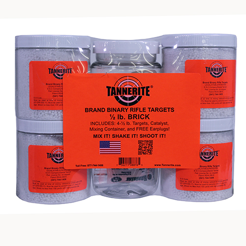 Tannerite Tannerite Half Brick 1/2 Lb Exploding Target 4 Pack 1/2BR