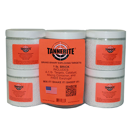 Tannerite Tannerite Brick 1 Lb Exploding Target 4 Pack 1BR