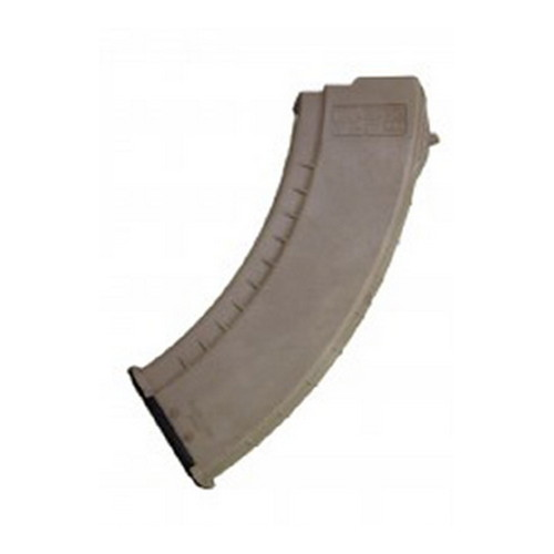Tapco Intrafuse AK-47 Smooth Side Magazine 30 Round, Flat Dark Earth