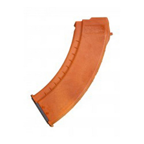 Tapco Intrafuse AK-47 Smooth Side Magazine 30 Round, Orange