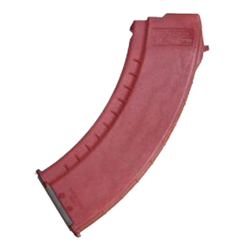 Tapco Tapco Intrafuse AK-47 Smooth Side Magazine 30 Round, Red MAG0632-RD