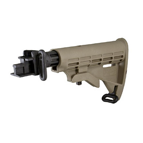 Tapco AK T6 Collapsible Stock Dark Earth