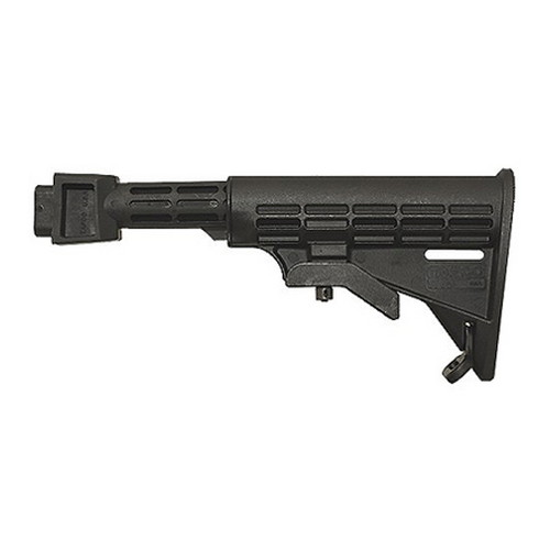 Tapco Tapco AK Intrafuse T6 Milled Receiver Stock Black STK06161-BK