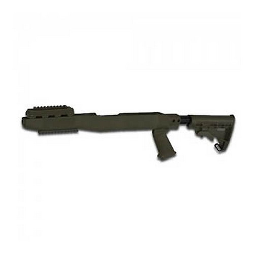 Tapco Intrafuse SKS System w/Lower Rail Olive Drab