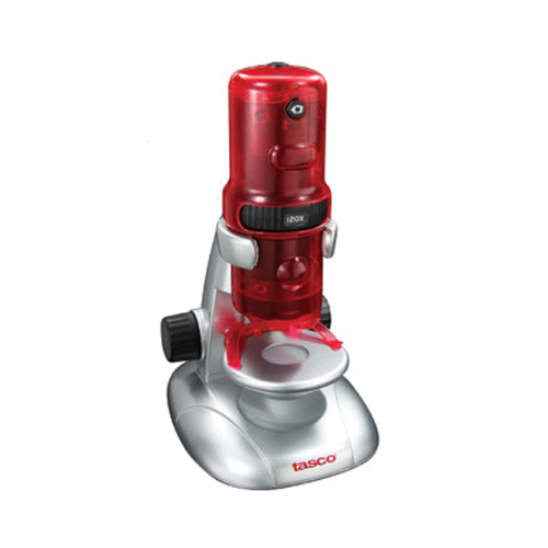 Tasco Tasco Digital Microscope Red/Silver 120x 780200T