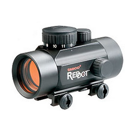 Tasco Propoint Red Dot Sight .22, 1x30mm, Matte Black, 5 MOA, Clam Pack