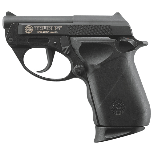 Taurus Pistol Taurus PT22 .22 Long Rifle Blue, Double Action Only, 8+1, Polymer Frame 1220031PLY