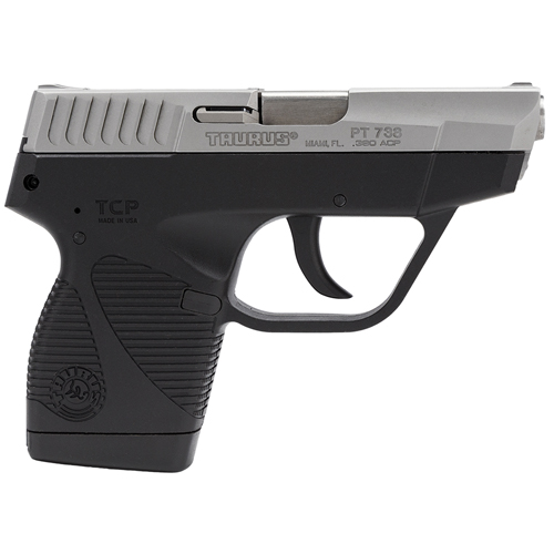 Taurus 738 TCP .380 ACP Stainless Steel, 3.3