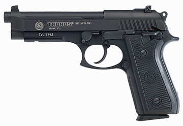 "Pistol Taurus PT99 9mm Adjustable 9mm, 5"" Barrel, 17+1 Round, Asjustable Sights, (Blued) 199015117"