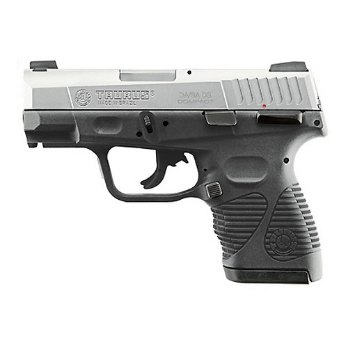 """Taurus PT 24/7-G2 9mm Luger Compact 3.5"""" Barrel Stainless Steel Refurbished Semi Automatic Pistol Z1247099G2C17"""