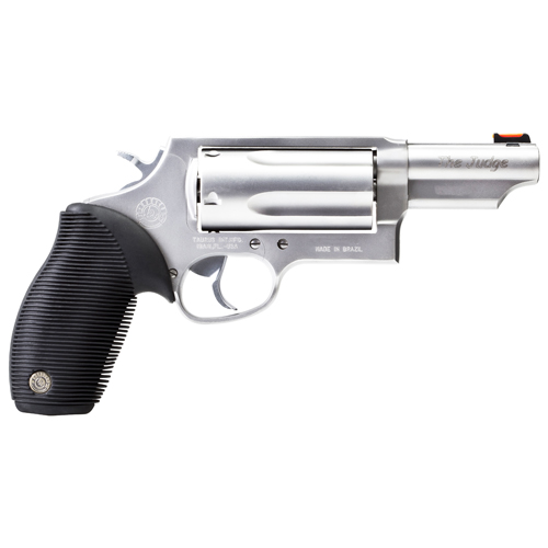 "Taurus 45-410 Judge 410 Ga./45 Colt Tracker 3"" Barrel 5 Round Matte Stainless Steel Refurbished Revolver Z2441039MAG"