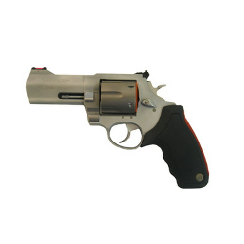 "Revolver Taurus M444 Raging Bull .44 Magnum Ultra Light 4"" Barrel, 6 Round, Adjustable Sights, (Stainless Steel 2444049ULT"