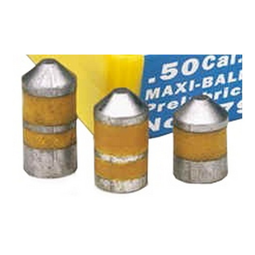 Thompson/Center Arms Maxi-Hunter Prelubricated Bullets .50 Caliber 350Gr (per 20)