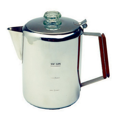 Tex Sport Tex Sport Percolator, Stainless Steel 9 Cup 13215