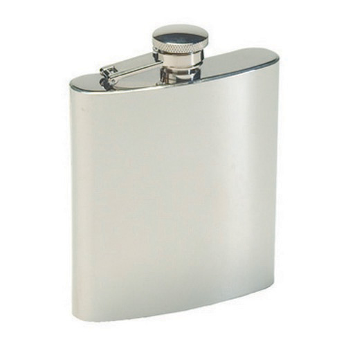 Tex Sport Tex Sport Flask, Stainless Steel 8 Ounce 13405