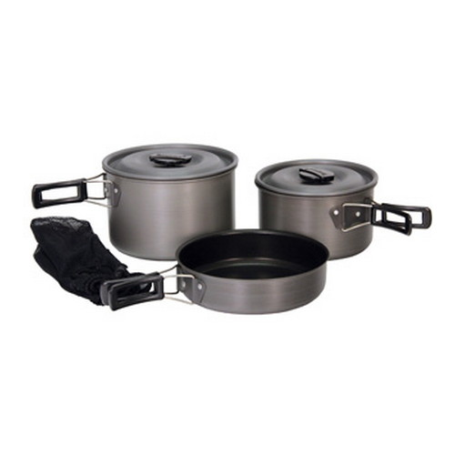 Tex Sport Tex Sport Black Ice Cook Set H.A. QT The Scouter 13412