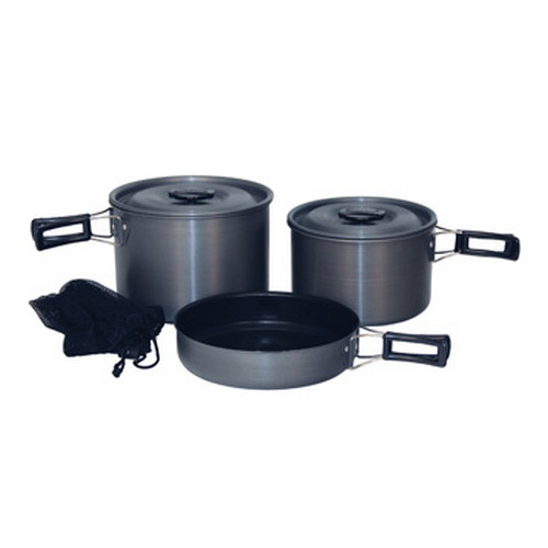 Tex Sport Tex Sport Black Ice Cook Set H.A. QT Trailblazer 13414