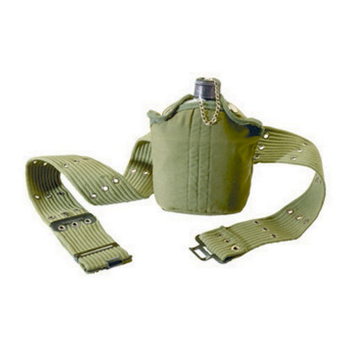 Tex Sport Canteen/Belt Set Aluminum