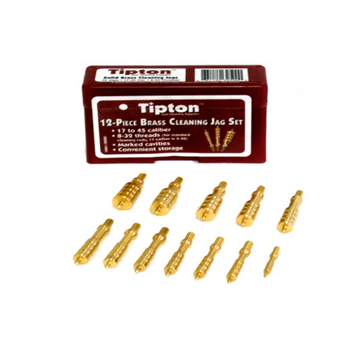 Tipton Tipton 12-Piece Solid Brass Jag Set 749245