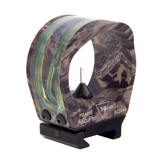 Trijicon Trijicon AccuPin Bow Sight Green, Lost Camo, Rail Grabber Mount BW02G-LS