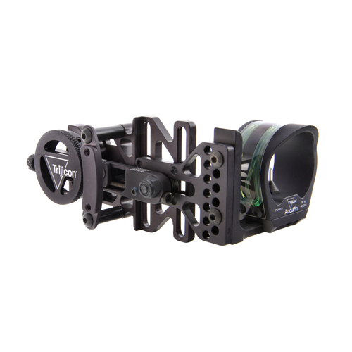 Trijicon AccuPin Bow Sight Green Reticle, Right Hand, Black