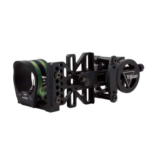 Trijicon Trijicon AccuPin Bow Sight Green Reticle, with Left Hand Mount BW51G-BL