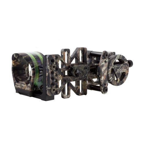 Trijicon AccuPin Bow Sight Green Reticle, Left Hand, Base, Lost Camo BW51G-LS