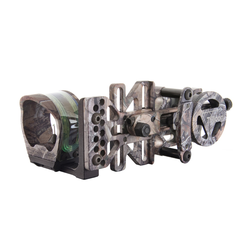 Trijicon Trijicon AccuPin Bow Sight Green Reticle, Left Hand, Dovetail Base, Realtree Camo BW51G-RT