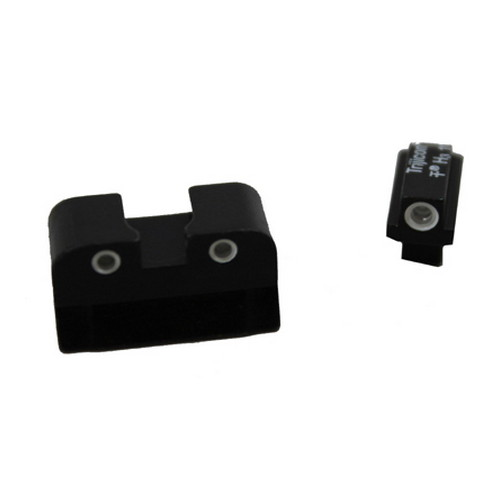 Trijicon Trijicon Colt Officers 3 Dot Front & Rear Night Sight Set CA09