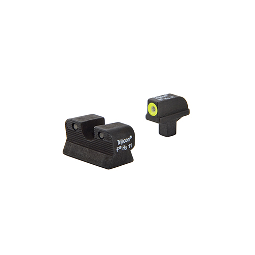 Trijicon Trijicon 1911 Colt Cut HD Night Sight Set Yellow CA101Y