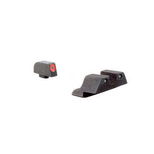 Trijicon Trijicon Glock HD Night Sight Set Orange Front Outline GL101O