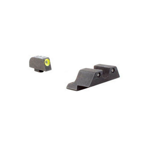 Trijicon Trijicon Glock HD Night Sight Set Yellow Front Outline GL101Y