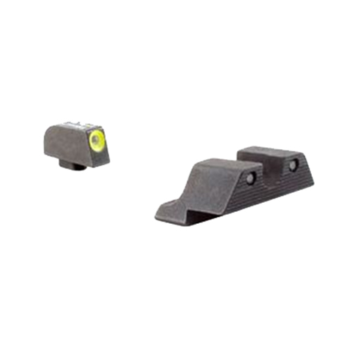 Trijicon Glock HD Night Sight Set Yellow Front Outline GL104FY