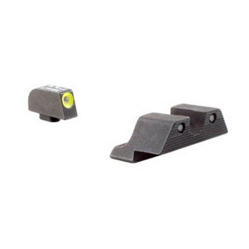 Trijicon Trijicon Glock HD Night Sight Set Yellow Front Outline GL104Y
