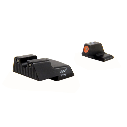 Trijicon Trijicon H&K HD Night Sight Set .45, Orange Front HK111O