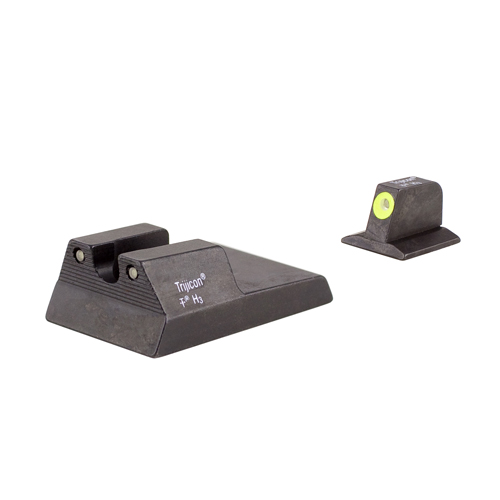Trijicon Trijicon Ruger SR9,40,40c, HD Night Sight Set Yellow, Fiber Optic RA114Y