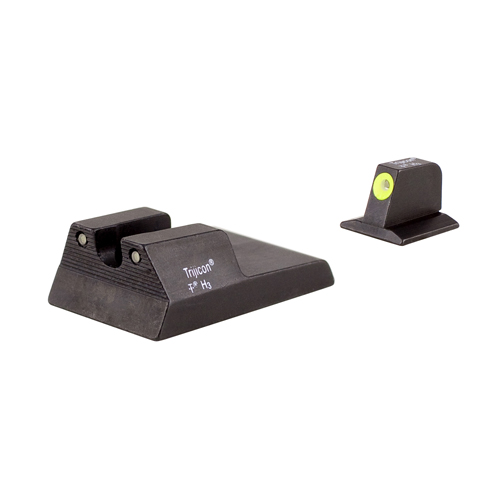 Trijicon Trijicon Ruger SR9c HD Night Sight Set Yellow, Fiber Optic RA115Y