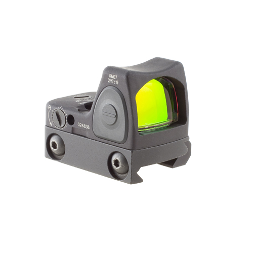 Trijicon Trijicon RMR Sight Adjustable 6.5 Minutes Of Angle w/RM33 Picatinny Mount RM07-33