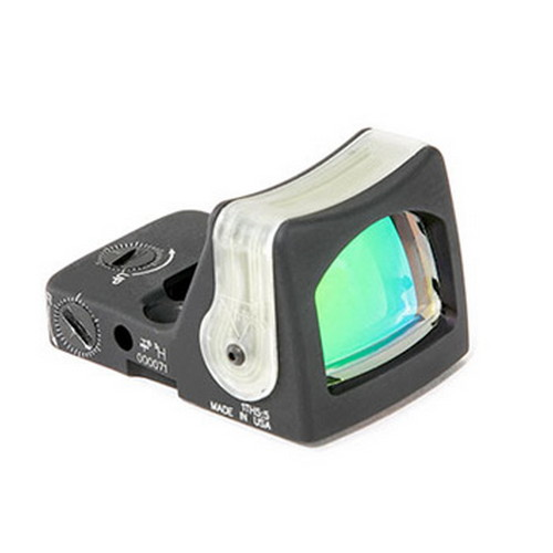 Trijicon Trijicon RMR Sight Dual Illuminated ,12.9 MOA Green Triangle RM08G