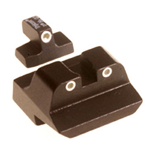 Trijicon Trijicon S&W .45 Long Rear, 3 Dot Front & Rear Night Sight Set SA09